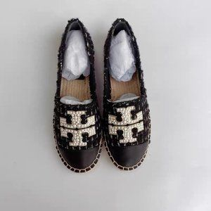 Tory Burch Chanel Style Tweed Espadrilles NIB
